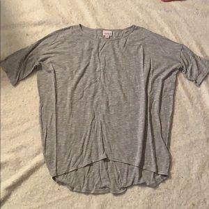 Lularoe XXS grey top
